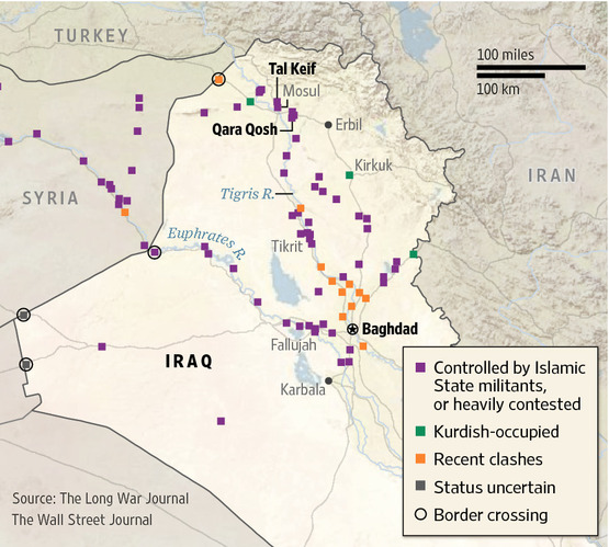 ISIS Holdings Map 080714